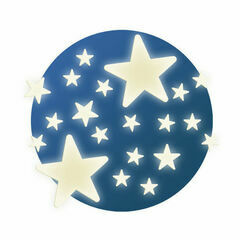 Djeco Glow in the Dark Stickers - Stars