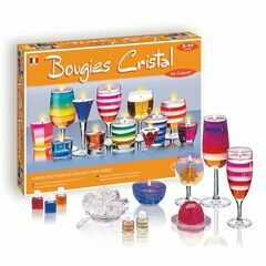 Sentosphère Crystal Candle Making Kit