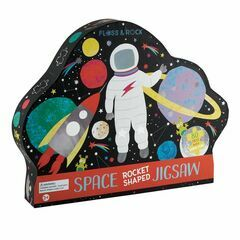Floss & Rock 80 Piece Shaped Puzzle - Space