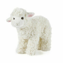 Living Nature Large Standing Lamb Soft Toy