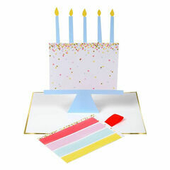 Slice of Cake Stand-Up Birthday Card