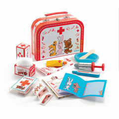 Djeco Wooden Veterinary Set - Bobodoudou