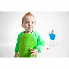 Mum2Mum Sleeved Wonder Bib - Size 18 - 36 Months - Various Colours