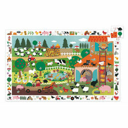 Djeco 35 Piece The Farm Observation Jigsaw Puzzle