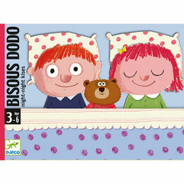 Djeco Bisous Dodo \'Night-Night Kisses\' Bedtime Card Game