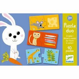 Djeco Dinner\'s Ready! Puzzle Duo