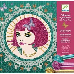 Djeco Glitter Workshop - Cleo Pop & Rock