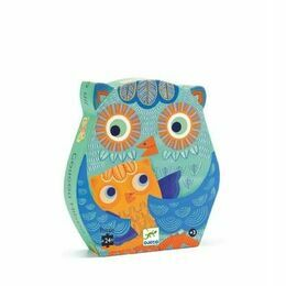 Djeco Hello Owl Silhouette Jigsaw Puzzle