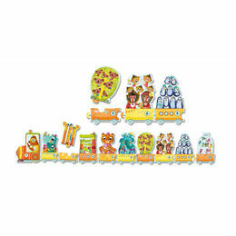 Djeco \'I Count\' Trains & Animals Puzzle