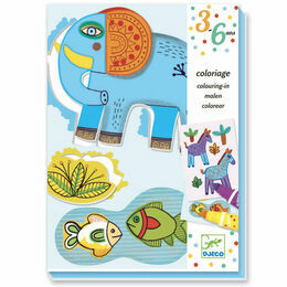 Djeco Colouring-in - Zoo Zoo