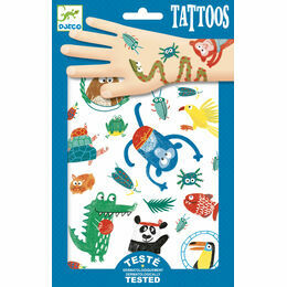 Djeco Animal Snout Temporary Tattoos