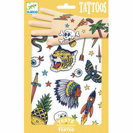 Djeco Temporary Tattoos - Bang Bang