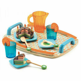 Djeco Wooden Tea Set - Gaby\'s Tea Party Set
