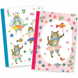 Djeco Notebooks - Aiko (Set of 2)