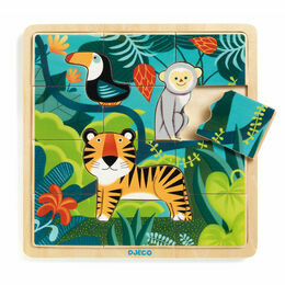 Djeco Wooden Puzzle - Jungle
