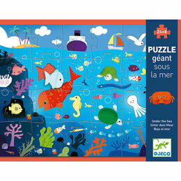Djeco 24 Piece Giant Jigsaw Puzzle - Under the Sea