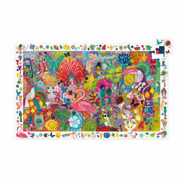 Djeco Rio Carnival 200 Piece Observation Jigsaw Puzzle