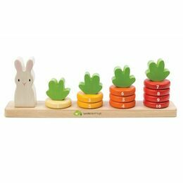 Tender Leaf Toys Counting Carrots Game