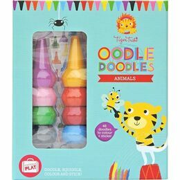 Tiger Tribe Oodle Doodles Crayon Sets - Animals