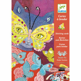 Djeco Stitching Cards - Elegant Carnival