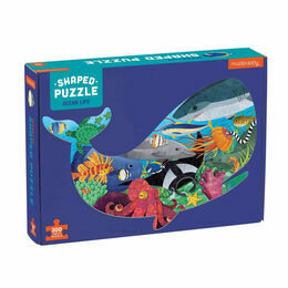 Mudpuppy Ocean Life 300 Piece Shaped Puzzle