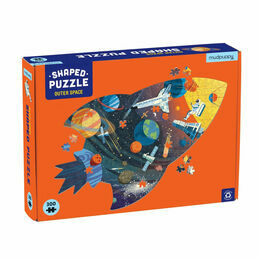 Mudpuppy Outer Space 300 Piece Shaped Puzzle