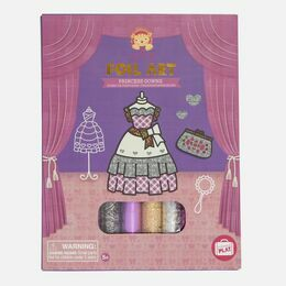Tiger Tribe Foil Art - Princess Gowns