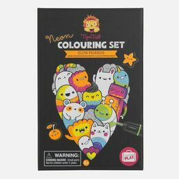 Tiger Tribe Neon Colouring Sets - Glow Friends