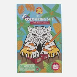 Tiger Tribe 3D Colouring Fun - Fierce Creatures