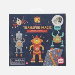 Tiger Tribe Transfer Magic - Create a Robot