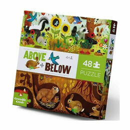 Crocodile Creek Above & Below 48 Piece Puzzle - Backyard Discovery