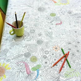 Eggnogg Colour In Giant Poster - Glorious Garden