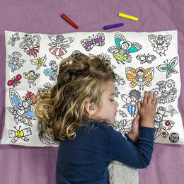 Eggnogg Colour In Pillowcase - Flower Fairies