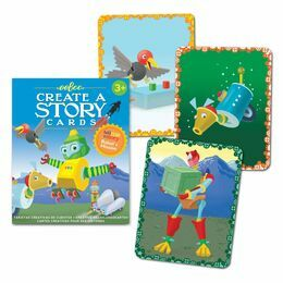 eeBoo Create a Story Robots Mission Card Game
