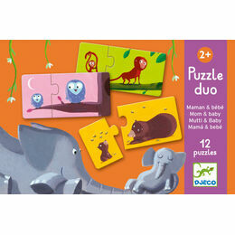 Djeco Puzzle Duo - Mum and Baby