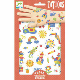 Djeco Temporary Tattoos - So Cute