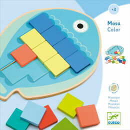 Djeco Educational Game - Mosa Colour Mosaic