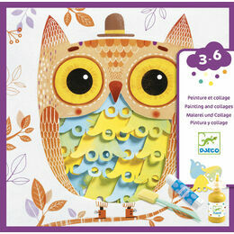 Djeco Paint & Collage Set - Oh it's Fantastic!