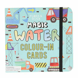 Floss & Rock Construction Magic Water Pad and Pen