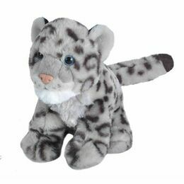 Baby Snow Leopard Cuddlekins Soft Toy (20cm)
