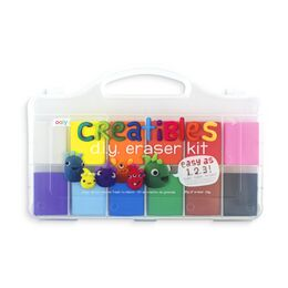 Ooly Creatibles DIY Eraser Kit (Set of 12 Colours)