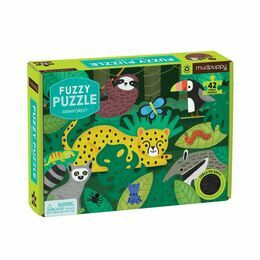 Mudpuppy Fuzzy Puzzle - Rainforest