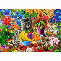 Kitten Fun 1000 Piece Puzzle