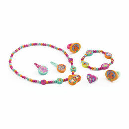 Djeco Wooden Jewellery Set - The Pretty
