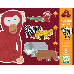Djeco Giant Jigsaw Puzzles - Henri and Friends