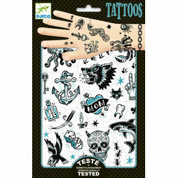 Djeco Temporary Tattoos - Dark Side