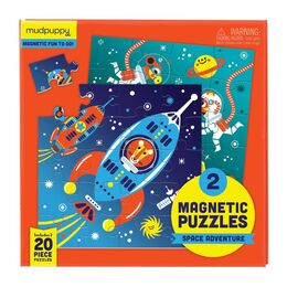 Mudpuppy Magnetic Puzzle - Space Adventure