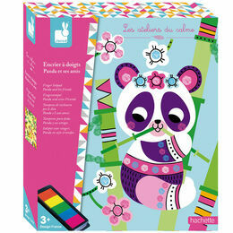 Janod Finger Inkpad Kit - Panda and His Friends