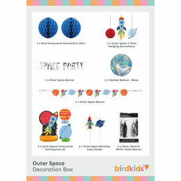 Outer Space Party Decoration Box