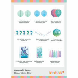 Mermaid Tales Party Decoration Box
